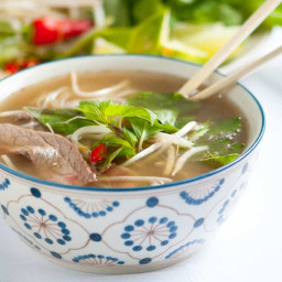 Homemade Vietnamese Pho Recipe with Video