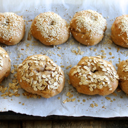 Homemade Whole Wheat Bagels Recipe