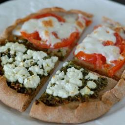 Homemade Whole-Wheat Pizza