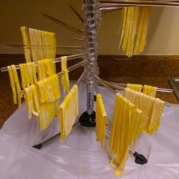 Homemade Yellow Fettucine