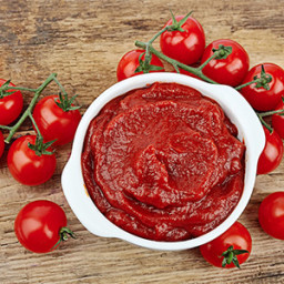 Homemade Canned Tomato Paste
