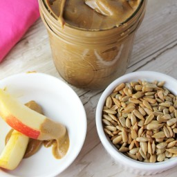 Homemade Sunflower Seed Butter, Extra Creamy