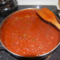 Homestyle Chili With Beans