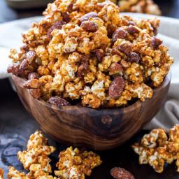 Honey Almond Caramel Corn
