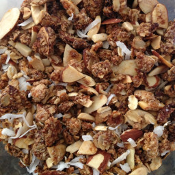 Honey-almond Granola