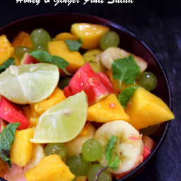 Honey and Ginger Fruit Salad