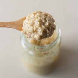 Honey and Oatmeal Scrub