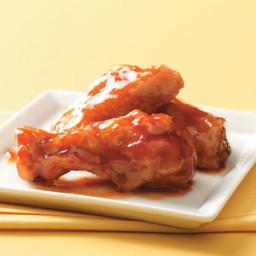 Honey-Barbecue Chicken Wings Recipe