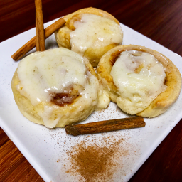 Honey Butter Cinnamon Rolls