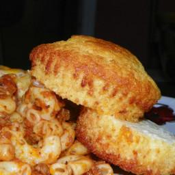 Honey Cornbread Muffins-The Neely's
