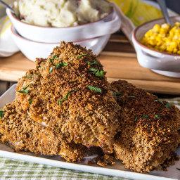Honey Dijon Oven Fried Chicken