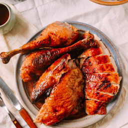Honey Glazed Cantonese Turkey