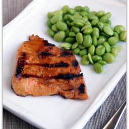 Honey Glazed Grilled Salmon