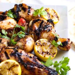 Honey Glazed Harissa Grilled Chicken