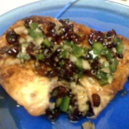 Honey Jalapeño Relish Chicken