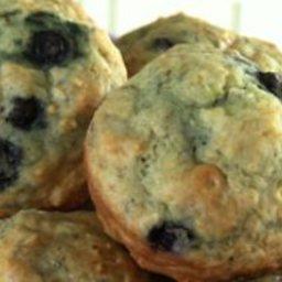 Honey Lemon Blueberry Muffins