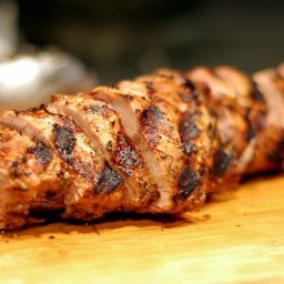 Honey Marinated Pork Tenderloin