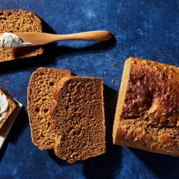 Honey Molasses Whole-Wheat Bread