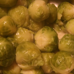 Honey-Mustard Brussels Sprouts