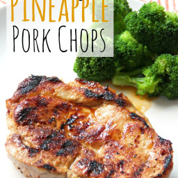 Honey Pineapple Pork Chops