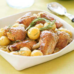Honey-Rosemary Chicken with Yukon Gold Potatoes