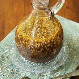 Asian Honey Sesame Dressing  (Chinese Black Vinegar box)