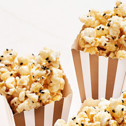 Honey-Sesame Popcorn