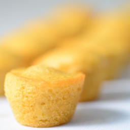 Honey Whole-Grain Mini Corn Muffins