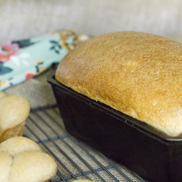 Honey Whole Wheat Bread (Natural Yeast/Sourdough)