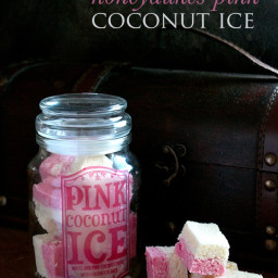 Honeydukes Pink Coconut Ice