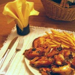 Honeyed Chicken Wings