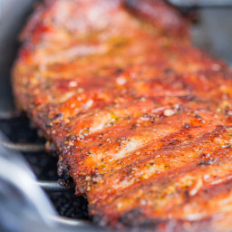 Honey Glazed Rack of Pork Ribs