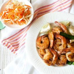 Honey Glazed Shrimps