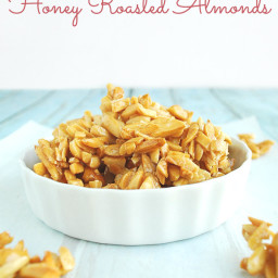 Honey Roasted Almonds for Salads or Snacks