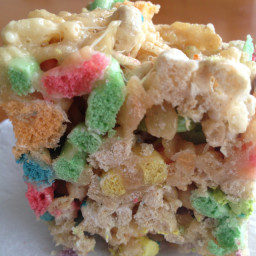 Honey's Rice Crispy Confetti Squares