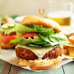 Hoppin' John Veggie Burgers