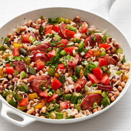 Hoppin' John with Andouille