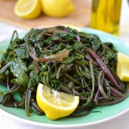 Horta Vrasta (Boiled Dandelion Greens)