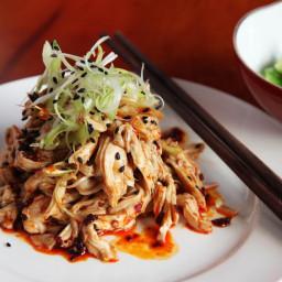 Hot and Numbing Sichuan Chicken Salad (Bang Bang Ji Si) Recipe