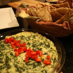 Hot Artichoke and Spinach Dip