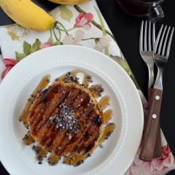 Hot cakes o panquecas veganas y sin gluten