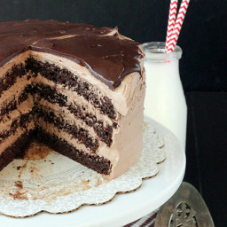 Hot Chocolate Icebox Cake