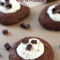 Hot Cocoa Thumbprint Cookies Recipe