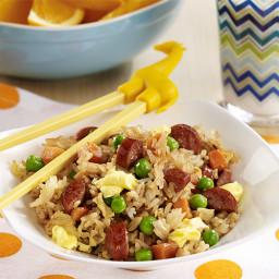 Hot Dog Fried Rice