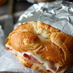 Hot Ham and Swiss Croissants