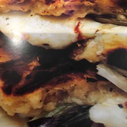 Sandwich: hot mozzarella focaccia