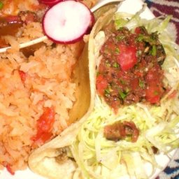 Hot n Spicy Chicken Soft Tacos
