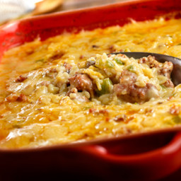 Hot Sausage Casserole