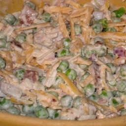Hotdoxy Pea, Bacon and Waterchesnut Salad