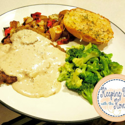 House Autry Southern Style Chicken Fried Steak with Country Gravy